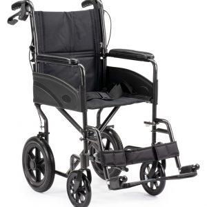 Evacuatieexpert compacte lichtgewicht rolstoel